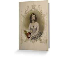 Vintage Note card - Write Your Own Message Greeting Card