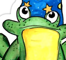 Wizard Frog  Sticker