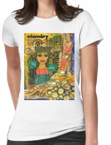 The Angel of Fond Memories Womens Fitted T-Shirt