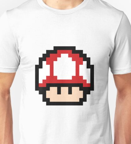 Red Mushroom - Pixel Fan Art Unisex T-Shirt