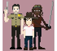 The Walking Dead - Rick, Carl and Michonne Photographic Print