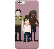 The Walking Dead - Rick, Carl and Michonne iPhone Case/Skin