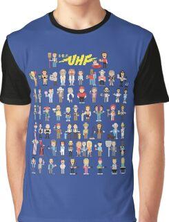 8-Bit UHF Graphic T-Shirt
