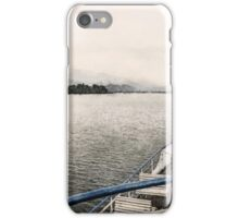 Lake Zurich, Switzerland iPhone Case/Skin