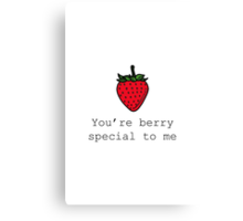 Berry Special Canvas Print