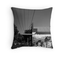 Beautiful Keswick- Sylvia's Deli Throw Pillow
