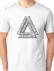 Wild World - Song Titles Unisex T-Shirt