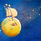 Sailing the Moon by CraigMartin