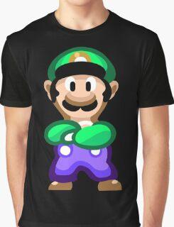 Luigi 16 Bit Graphic T-Shirt
