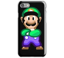 Luigi 16 Bit iPhone Case/Skin