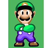 Luigi 16 Bit Photographic Print