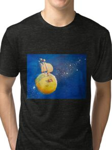 Sailing the Moon Tri-blend T-Shirt
