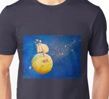 Sailing the Moon Unisex T-Shirt
