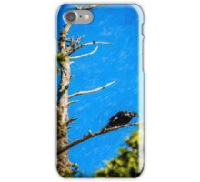 Crow in an Old Tree iPhone Case/Skin