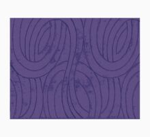 Line Art - The Curves, purple One Piece - Short Sleeve