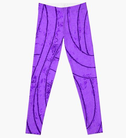 Line Art - The Curves, purple Leggings