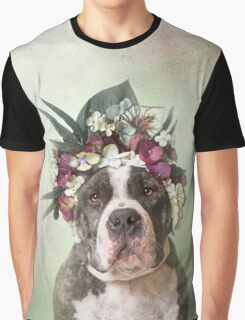 Flower Power, Luther Graphic T-Shirt