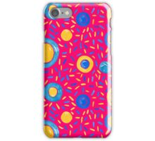 Candy Wave | Pink Pattern #redbubble #decor iPhone Case/Skin
