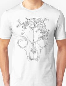 Rest in Pieces - Black and White Unisex T-Shirt