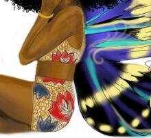 Chocolate Fairy Sticker