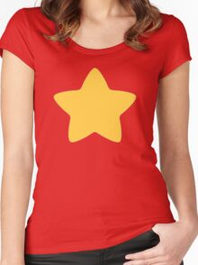 Steven Universe T-Shirt Pattern Women's Fitted Scoop T-Shirt