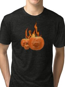 screaming pumkins Tri-blend T-Shirt