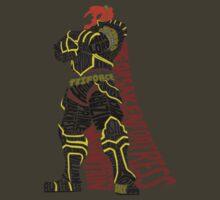 Ganondorf Typography by kingsrock