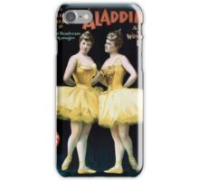 Performing Arts Posters Aladdin Jr a tale of a wonderful lamp 0005 iPhone Case/Skin