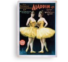 Performing Arts Posters Aladdin Jr a tale of a wonderful lamp 0005 Canvas Print