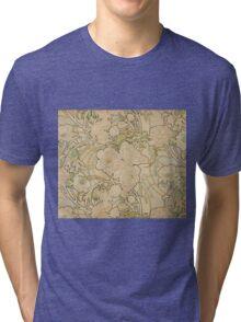 Alphonse Mucha - Eugene Samuel Grasset - Peonies1897  Tri-blend T-Shirt