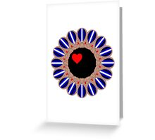 Leather Pride Sunflower Greeting Card