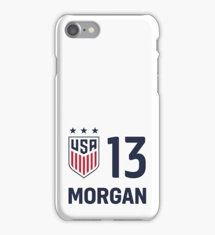 USWNT MORGAN iPhone Case/Skin