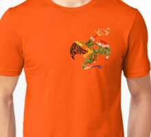 SOUTH AFRICA DRAGON FIRE RINGS FLAG Unisex T-Shirt