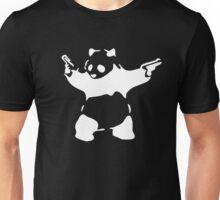 BANKSY KUNG FU PANDA GUNS Unisex T-Shirt
