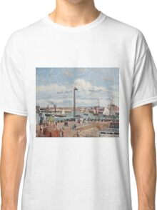 Camille Pissarro - The Pilots Jetty at Le Havre (1903)  Classic T-Shirt
