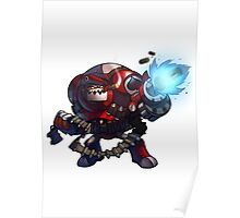 Expendable Clunk - Awesomenauts Poster