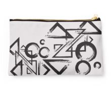 geometry circle triangle Studio Pouch