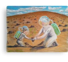 Earth 2050 Canvas Print