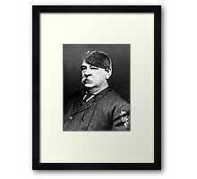 Super Grover Cleveland Framed Print