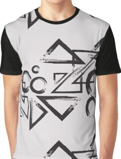 geometry circle triangle Graphic T-Shirt