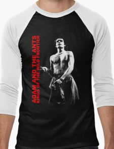 ADAM AND THE ANTS Kings Of The Wild Frontier Men's Baseball ¾ T-Shirt