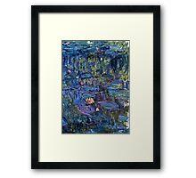 Claude Monet - Nympheas (1914 - 1917)  Framed Print