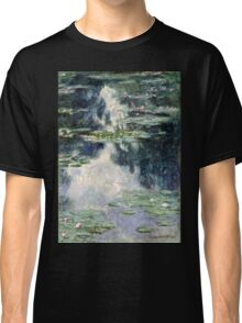 Claude Monet - Pond with Water Lilies (1907)  Classic T-Shirt