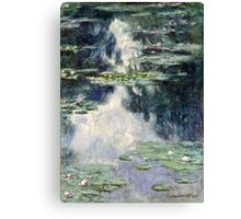 Claude Monet - Pond with Water Lilies (1907)  Canvas Print