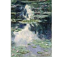 Claude Monet - Pond with Water Lilies (1907)  Photographic Print