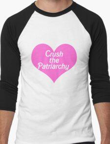 Crush the Patriarchy Men's Baseball ¾ T-Shirt