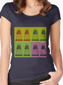 Daleks Women's Fitted Scoop T-Shirt