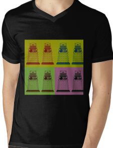 Daleks Mens V-Neck T-Shirt