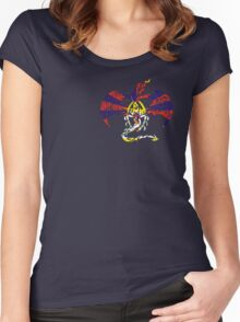 TIBET DRAGON FLAG Women's Fitted Scoop T-Shirt