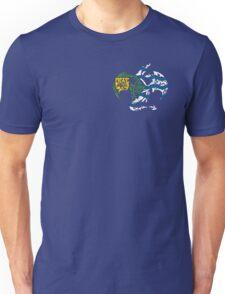 VANCOUVER DRAGON FLAG BC  Unisex T-Shirt